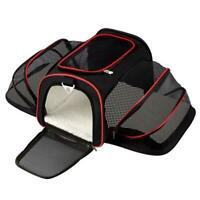Portable Pet Puppy Cat Bag Foldable Dog Car Seat Mat Cage Travel Accessosy NEW