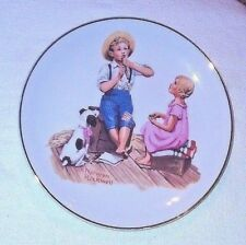 "Norman Rockwell MUSIC MASTER 6½"" Decorative Plate - 1984"