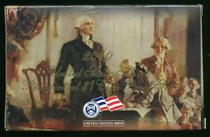 2010-S United States Mint Presidential $1 Coin Proof Set w/ Box & CoA  CP862