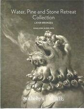 SOTHEBY'S HK Water Pine Stone Retreat CHINESE BRONZES Qing Ming Catalog 2014 HC