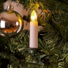 LED-Weihnachtsbaumbeleuchtung 25er innen ein Strang / Schalter 19,2m 1004-020