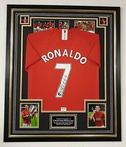 ** RARE Cristiano Ronaldo Signed Shirt Autographed Jersey** Aftal Dealer Cert