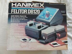 HANIMEX FELITOR DB120 SLIDE VIEWER PROJECTOR IN ORIGINAL BOX WITH INSTRUCTIONS