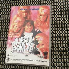 MIKE MYERS, AUSTIN POWERS DVD.