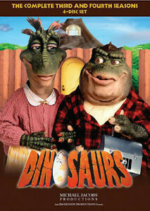 Dinosaurs: The Complete Third and Fourth Seasons [New DVD] Boxed Set, Repackag