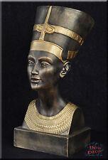 Ägyptische Figur Nofretete Pharao Statue Skulptur Dekofigur Kunstharz