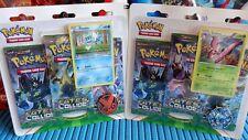 Pokemon Fates Collide Set of 2 3-Booster Blister Packs Froakie + Vivillon Sealed