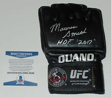 MAURICE SMITH SIGNED AUTO'D UFC OUANO GLOVE BAS COA 14 15 19 21 PRIDE FC JAPAN
