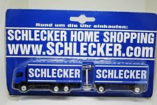 MERCEDES-BENZ Truck & Trailer in SCHLECKER Home Shopping Like Matchbox Convoy
