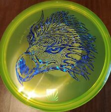 New Yellow 2018 Usdgc Roc #999 Blue Fractured stamp Coa Included.
