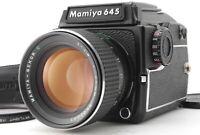 【TOP MINT】MAMIYA M645 1000S Medium Format Film Camera 80mm F/1.9 Lens From JAPAN