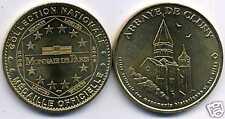 monnaie de paris  ABBAYE DE CLUNY (71)  2005  epuisé