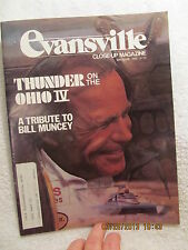1982 Evansville IN Close-Up Magazine Pays Tribute to Bill Muncey Thunder on Ohio