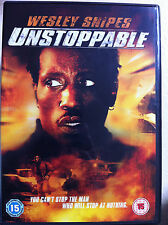 Wesley Snipes UNSTOPPABLE ~ 2004 Action Thriller ~ UK DVD