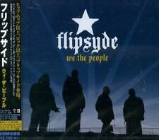 Flipsyde - We the People - Japan CD+3BONUS - NEW 14Tks