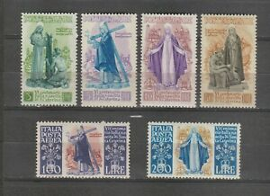 s37935 ITALIA MNH** 1948 Santa Caterina 6v