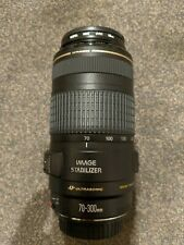 Canon EF 70 - 300 f 4.0 - 5.6 IS USM Immaculate condition