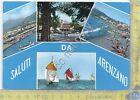 Cartolina - Postcard - Gruss aus - Saluti da - Arenzano - barche - 1967