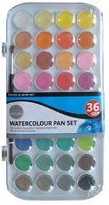 Daler Rowney Simply Watercolour - 36 Pan Set