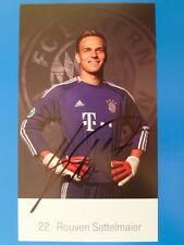 Rouven Sattelmaier (22) - ORIGINAL signiert - Bayern München Saison 2010/2011