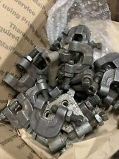 beam clamps. tipically used to suspend pipe or other items from I-beam