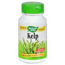 Nature's Way Kelp Capsules, 600 mg 100 ea