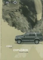 2004 Ford Explorer Owners Manual User Guide Reference Operator Book Fuses OEM