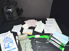 Trauma IFAK First Aid Kit - MOLLE Medic Bag - 60pc Medical Pouch - Black