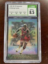 1995-96 SP Michael Jordan #PC5 Holoviews Bulls 10/9.5/9.5 Subgrades!