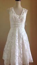 JCREW Ava Floral burnout organza bride sheer overlay dress Sz 2 WHITE NWT $395