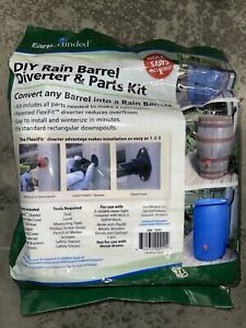 EarthMinded F-RN025 Diy Rain Barrel Kit New