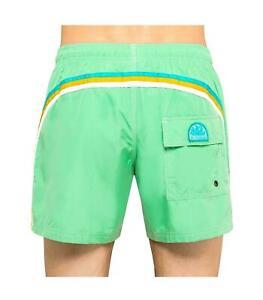 SUNDEK PARADISE Green Men`s Shorts Size 34