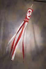 "Oklahoma Sooners 60"" Polyester Wind Sock NCAA Licensed"