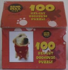 hana deka club 100 die cut piece doghouse puzzle new