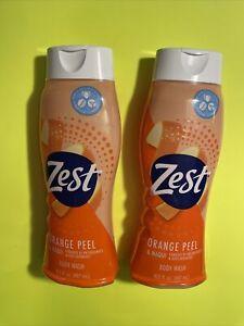 2Bottles Zest 16.5 Oz Orange Peel & Maqui Antioxidants Bioflavonoids Body Wash🔥