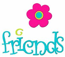 Sizzix Bigz Phrase Friends with Flowers die #655862 Retail $19.99 Dena Designs