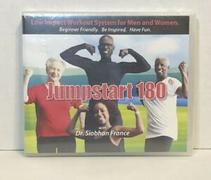 Jump Start 180° With Dr Siobhan France Low Impact Workout DVD Factory Sealed