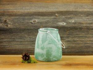 Windlicht Teelicht Glas Vase Blumenvase Kerze Lampe Beleuchtung Garten Terrasse