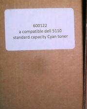 Dell 5110 Cyan Toner - Std Capacity - Compatible - Sealed Pt No 600122