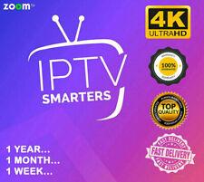 IP*TV Smarters Pro 12 Mois Abonnement(✔️+85000✔️4K✔️M3U✔️SMART TV✔️ANDROID✔️MAG)
