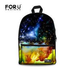 School Bags for Teenage Girls Fashion Galaxy College Travel Backpack Rucksack