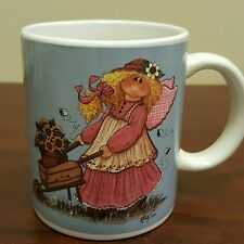 Cartoon Lady With Wings In The Garden Coffee Mug Mindy Cain B23