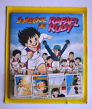 ALBUM DE CROMOS SUPERGOL RAFAEL RUDY + CROMOS A PEGAR [COMPLETO]. PANINI PACKS