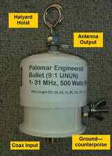 BULLET 9:1 End Fed Antenna Matcher Unun .5KW PEP 160-6 meters Heavy Duty