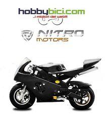Minimoto PS 60 MOSSI Carburatore maggiorato Frizione racing NITRO MOTORS NERA