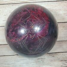 RARE 15lb Hammer Spider Nasty marbled red, purple, pink, black Bowling Ball