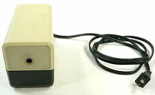 X-acto Xacto Electric Pencil Sharpener 18XXX BEIGE Tested + Working