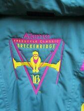 Fila Ski Jacket Italian Team Sponsor Freestyle Colorblock VTG 90's Thermore XL