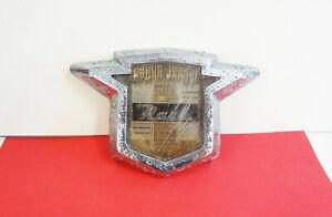 1955 1956 Nash Rambler Statesman Chrome Truck Handle Ornament Plastic Medallion