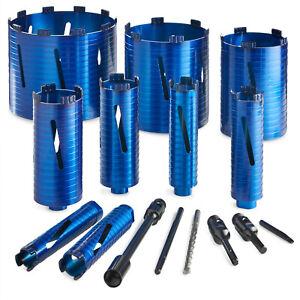 Dry Diamond Core Drill Bit Plumbers/Builders Premium Turbo Segment Hole Cutter